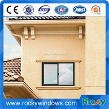 Fashionable factory price aluminum small sliding windows