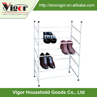 China supplier steel furniture cleaning free sample new shoes rack for lidl