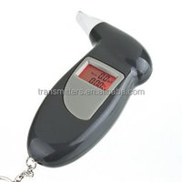 Portable alcohol breathalyzer drive safety digital alcohol tester