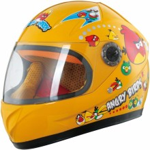 Kids Cartoon Motorcycle Full Face Children Helmet