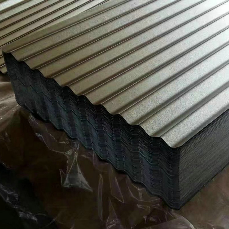 JIS G3312 long span color coated corrugated roofing sheet