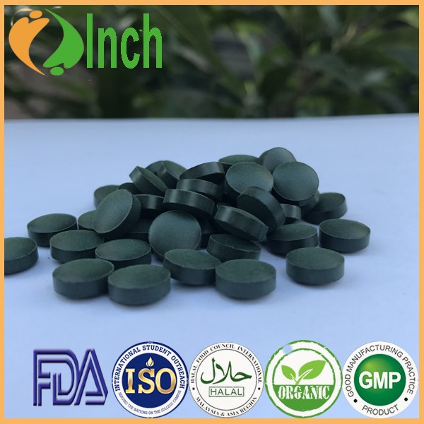 Pure and Natural Green Spirulina Tablet for Nourish Stomach in Bulk