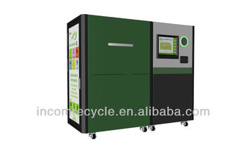 Auto vending machines for recycliing bottle,cans,and paper
