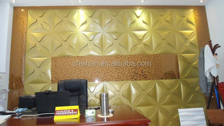 Widely used insterior&exterior 3d panels with 3d effect appearance