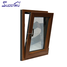 Alibaba china double glazed aluminum clad wood window with Australian standard As2047