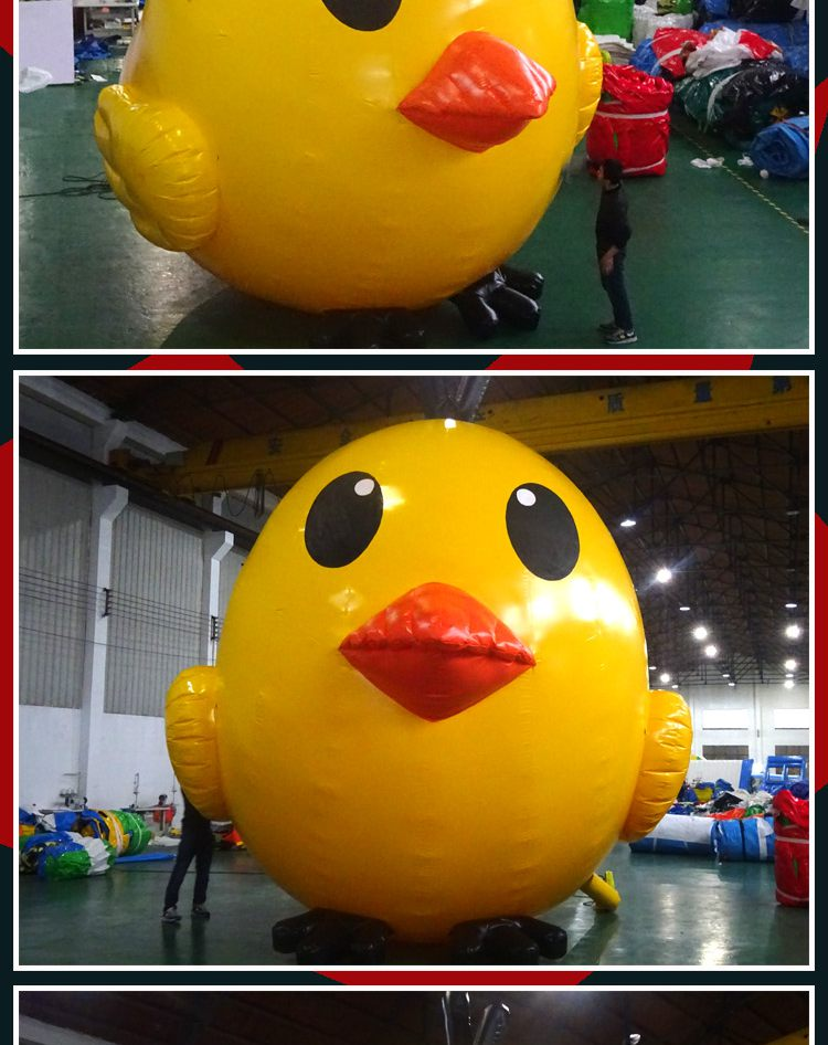giant inflatable chicken for advertising