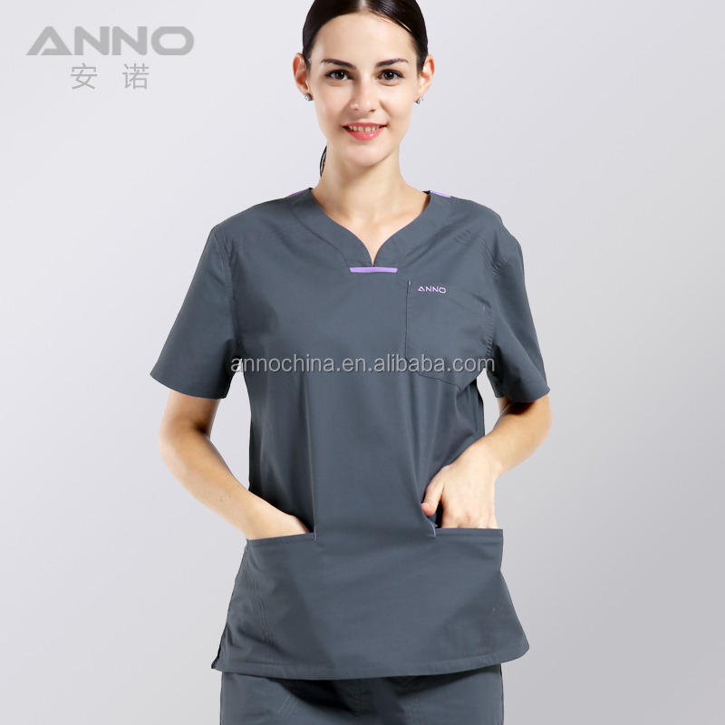 New style medical nurse scrubs uniform designs nurse scrub suits wholesale