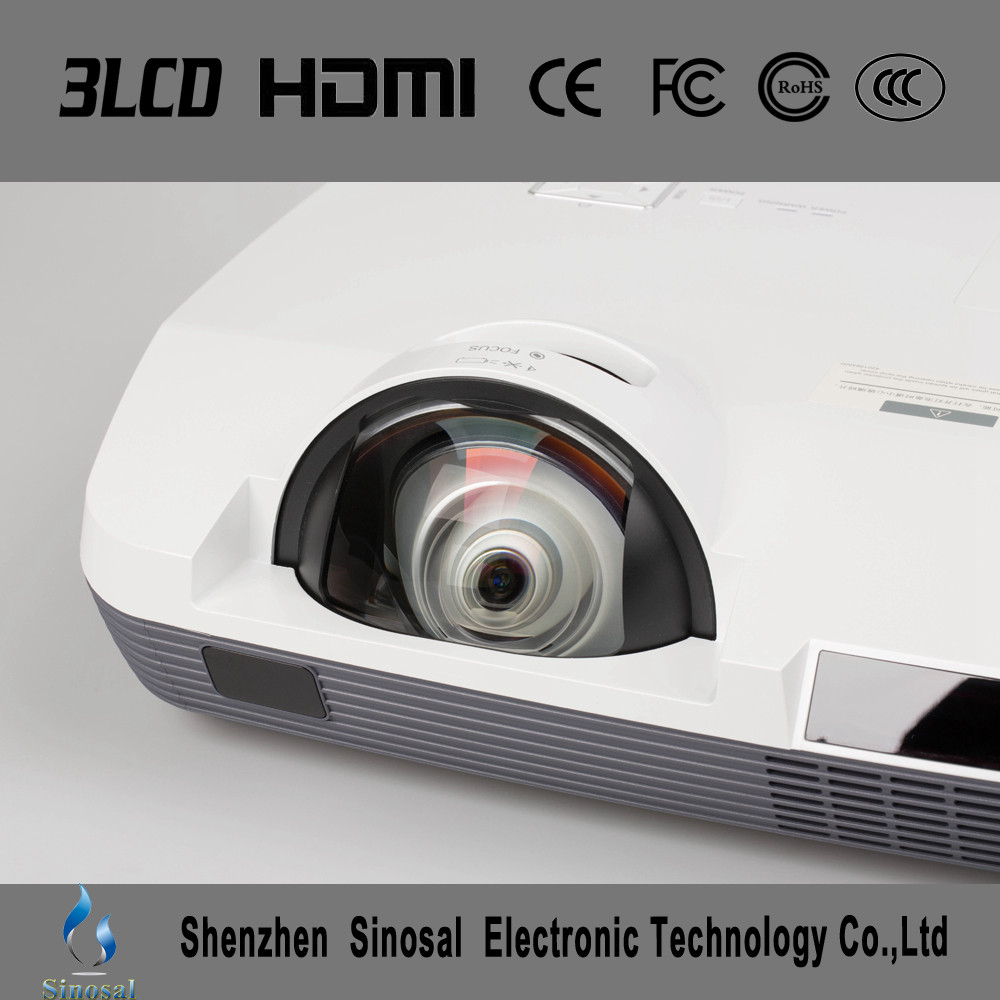 2016 Newest Short Throw Home Theater 4000 lumens lamp pico projector SINO-USL027 for Children's Gift