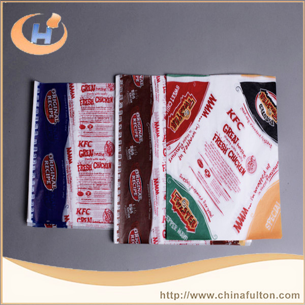 High Grade Food Wrapping hamburger Paper For fast food