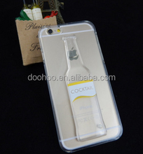 Wholesale Mobile Phone Accessories Bear Bottle Liquid Cell Phone Case