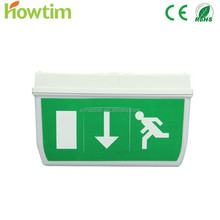 ce/rohsT5 8W IP65 fire led Emergency light with exit sign lamp