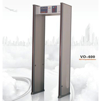trade assurance 6 zone metal detector door frame