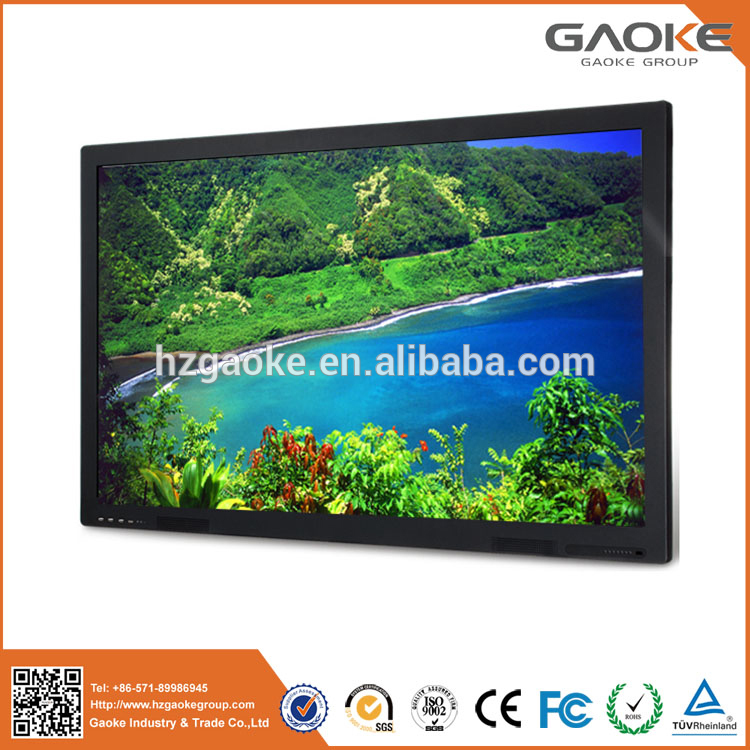 interactive display wall 55'' 70'' lcd projector with built-in pc all in one smart board for school