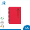PP Cover Spiral Pen Notebook
