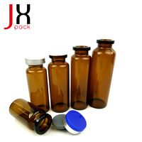 1ml 2ml Amber/ Clear Glass Products Ampoule/Vial Bottles for Medical and Cosmetics