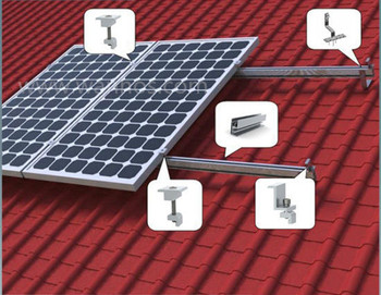 Best selling roof hook solar panel roof racking system