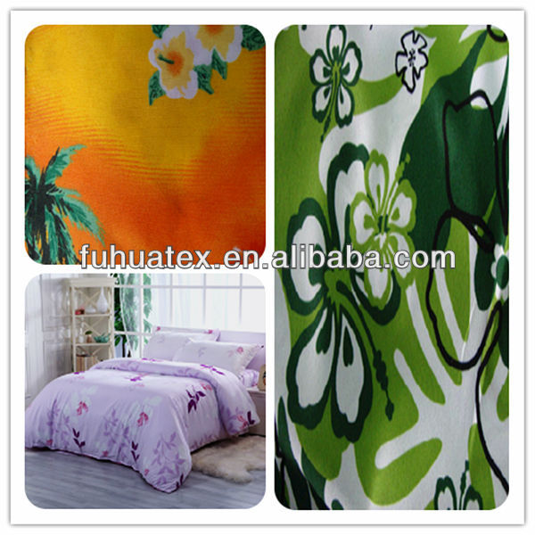 wholesale 100% polyester peach skin fabric for bedding set
