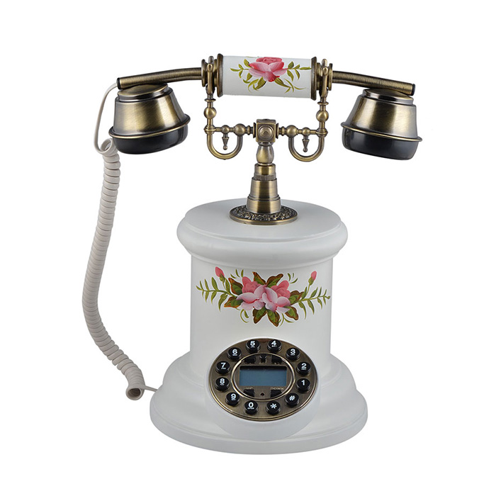 Antique Style Vintage Phone Funny Design Decorative Corded Telephone For The Home