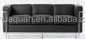 A497# modern wooden sofa set designs,black leather color office sofa furniture