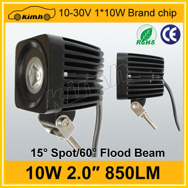 Super bright 850LM led work light 10w square lamp