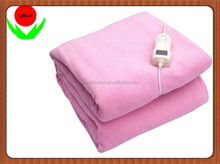 temperature adjustable multifunction temperature controlled heated 100% polyester electric blanket for bed
