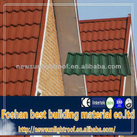 black clay roof tiles/colorful steel roof tile/color roofing sheet
