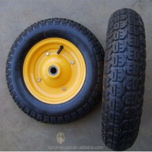3.50-7 wheelbarrow tyre 7 inch rubber wheel