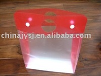 plastic gift packaging box (semi-transparent box)
