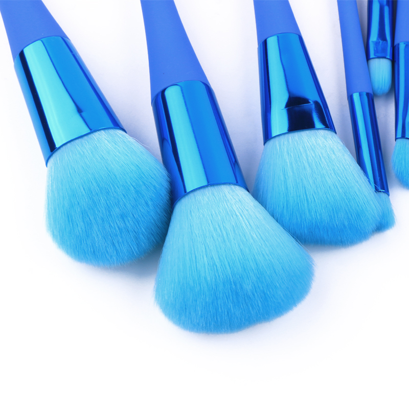 New design slim handle brush professional make up brushes makeup brush set with private lable