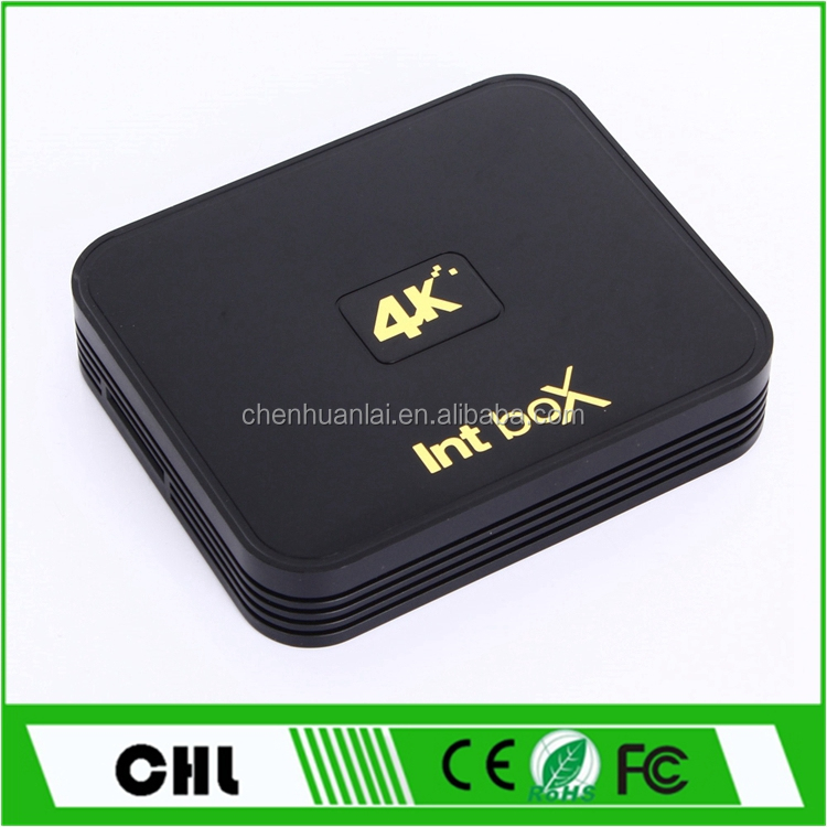 Cheapest Int Box I5 Amlogic S912 Android Tv Box , 2GB RAM 8GB ROM Kodi 17.1 Hd Digital Tv Set Top Box