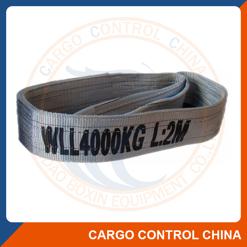 9002 CE TUV GS Polyester Flat Webbing Lifting Sling Belt