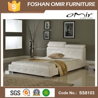 SS8103 modern stylish bed cot bed wood furniture
