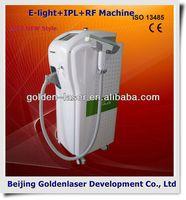 2013 New design E-light+IPL+RF machine tattooing Beauty machine chromatic grip