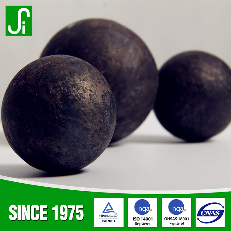 High quality Roll forging steel balls for gold mine
