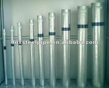 galvanized pipe properties