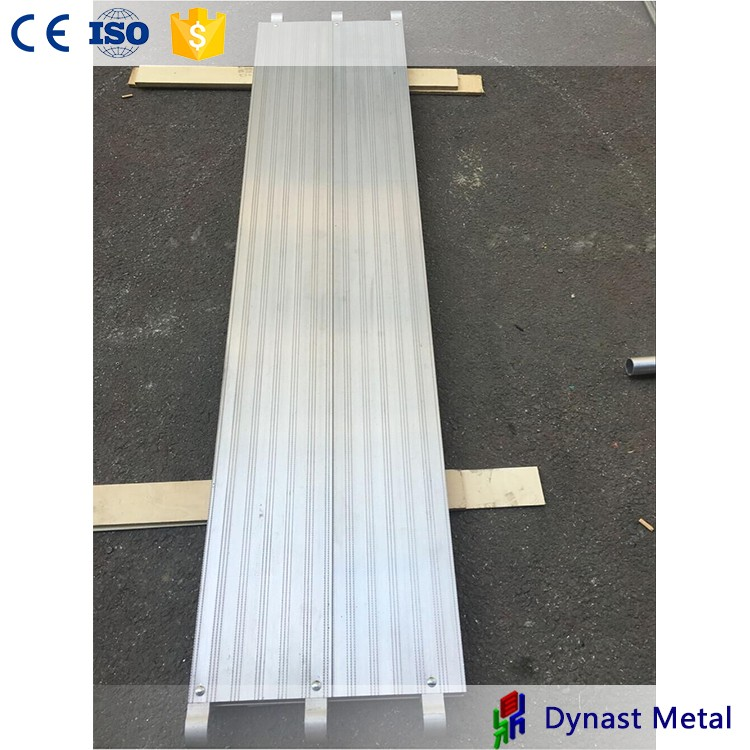 OEM with ISO certificate 100% Guaranteed cheapest aluminum decorative plank profiles drawing scaffolding all aluminum plank