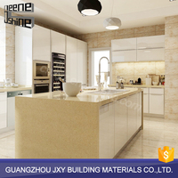 Professional manufacturer waterproof modern modular mobile home kitchen cabinet made in china