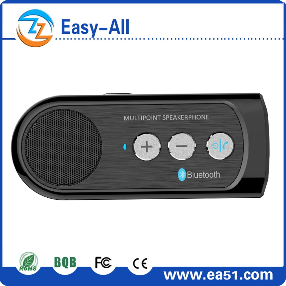 2016 best bluetooth car kit hands free wireless bluetooth 3.0 car speaker phone kit for mobil model HF 910