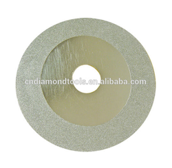 Electroplated Diamond Grinding and Cutting Disc with Ni coating
