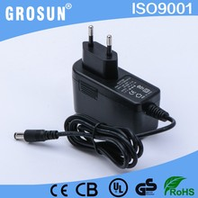 Efficiency V Level CE Listed 100-240V AC to 12VDC 1.5A 1500mA CCTV Camera Power Supply AC to DC Switching Power Adapter