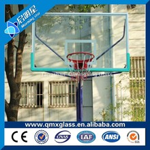 Factory competitive price 12mm basketball board tempered glass