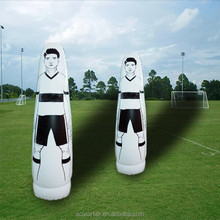 2.0m height inflatable football dummy for training soccer training defender football mannequin