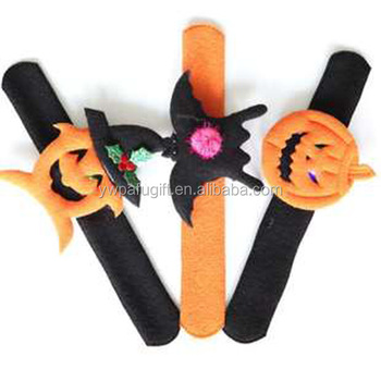 halloween Kids gift decor wristband snap bracelet pat circle