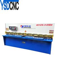 swing beam cutting machine 6X2500 hydraulic shearing machine,swing beam shearing machine,sawing shearing machine