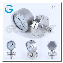 High Quality Stainless Steel diaphragm type pressure manometer