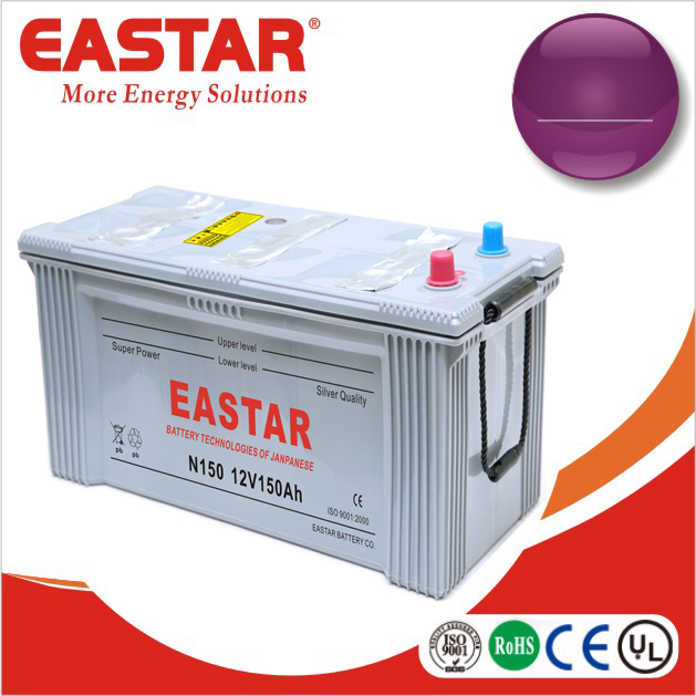 All model 24 volt car battery N150 for automobile