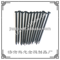 Steel Black Zinc Brick Wall Concrete Nail