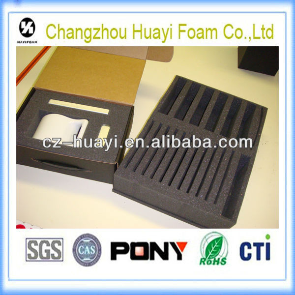 eco PE/polyethylene black layer foam packaging