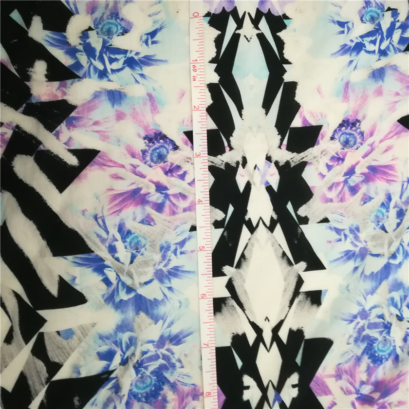 60S 9088 100% rayon fabric custom rayon fabric digital print