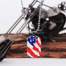 New Style Pictures and Words Engraved Metal Necklaces for Boys